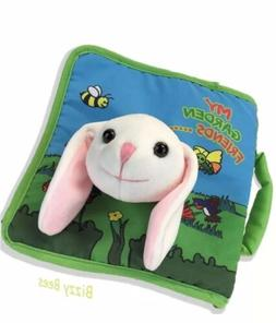 Plush Stuffed Toy Easter Bunny Rabbit Cloth Soft Book, Baby