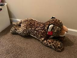 "Aurora Plush Super Flopsie Leopard 27.5"" - Aurora World, Inc"