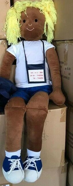 "plush toy doll for seat belt training 48"" tallBulk Lot"