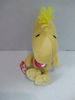 TY Plush Toy PEANUTS WOODSTOCK Original BEANIE BABIES