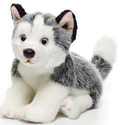Nat and Jules Alert Small Husky Dog Children's Plush Stuffed