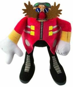 Plush Toy - Sonic the Hedgehog - Modern Dr Eggman - 8 Inch