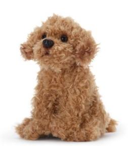 Nat and Jules Plush Toy, Labradoodle