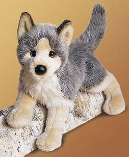 Plush Tyson Floppy Wolf 16
