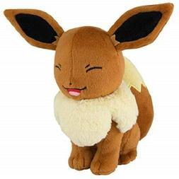 Pokemon 8 Inch Eevee Plush Tomy Eyes Closed Smiling Toys R U