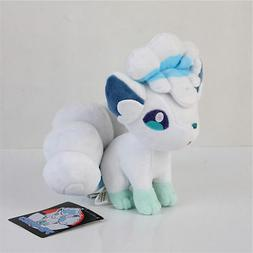 Pokemon Center Alolan Alola Vulpix Plush Toy Figure Stuffed