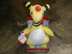 Pokemon Ampharos OA Plush Toy Figure Stuffed Animal Doll 12