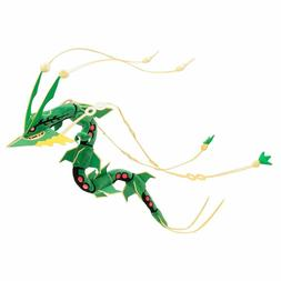 Pokemon Center Mega Evolution Rayquaza Plush Toy Figures Dol