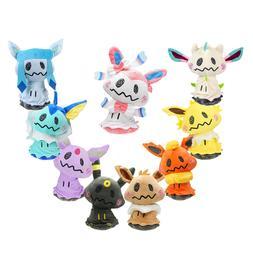 Pokemon Center Mimikyu Cosplay Flareon Eevee Sylveon Plush D