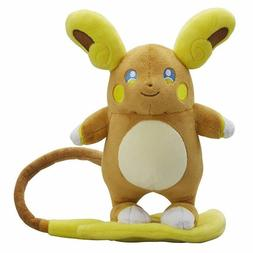 Pokemon Center Monster Alola Raichu Plush Toy Stuffed Figure