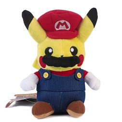 pokemon center pikachu plushie super mario plush