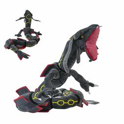 Pokemon Center Plush Doll Shiny Black Mega Rayquaza Stuffed