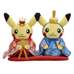 Pokemon Center Original Plush Toy Monthly Pair Pikachu 2017