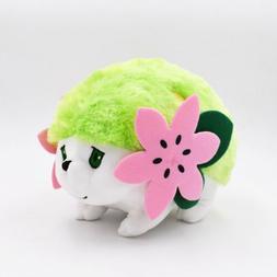 Pokemon Character Shaymin Plush Toy Green Fluffy Stuffed Ani