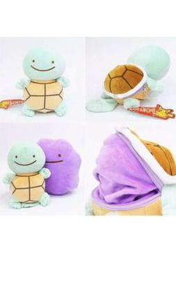 "Pokémon Ditto Squirtle Plush Stuffed Animal Toy 5"" US Sel"