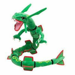 "Plush Doll Mega Rayquaza Stuffed Animal Toy 32"" Long"