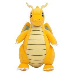 Pokemon Dragonite Pocket Monster Plush Soft Toy Stuffed Doll