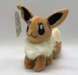 "Pokemon Eevee Stuffed Animal Plush Toy 8"" US Seller"
