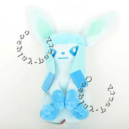 Pokemon Glaceon Evolution Eevee Figures Plush Toy Stuffed Do