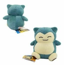 "Pokemon Go Snorlax Plush Toy Stuffed Animal Doll Figure 6"" K"