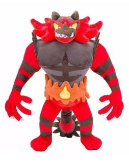 """Pokémon Incineroar Plush Stuffed Animal Toy 13"""" US Seller"""
