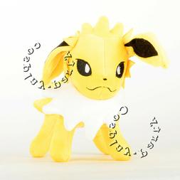 Pokemon Jolteon Evolution Eevee Figures Plush Toy Stuffed Do