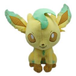 Pokemon Leafeon Plush Doll Toy Sun & Moon 10 Inches Banprest