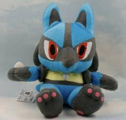 "Pokémon Lucario Plush Stuffed Animal Toy 7.5"" US Seller"