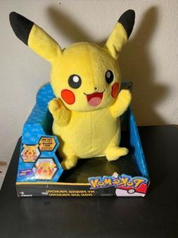 TOMY Pokémon My Friend Pikachu Plush Toy with Lights & Soun