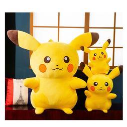 Takara Tomy Pokemon Pikachu Plush Doll Toy Cute <font><b>Ani