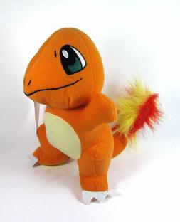 Pokemon Plush Charmander 7'' tall. Small Soft Toy. New Licen
