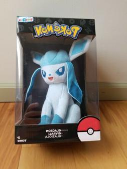 TOMY Pokemon Plush Figure Glaceon 20 cm Peluches