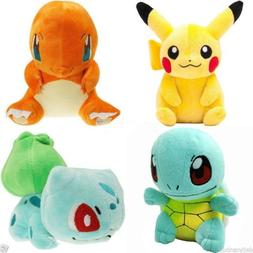 Pokemon Plush Toy Doll Pikachu Bulbasaur Squirtle Charmande