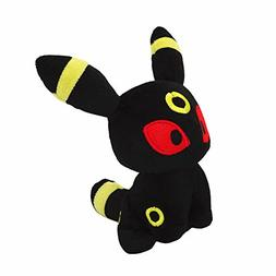 "6"" Pokemon Pocket Monster Pokedoll Figure #197 UMBREON Plush"