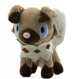 "Pokémon Rockruff Plush Stuffed Animal Toy 7"" US Seller"