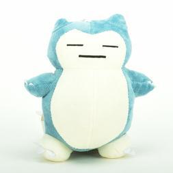 Pokemon Snorlax Plush Toy Stuffed Doll Figures 8'' Kid Baby