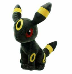 "Pokemon Umbreon Eevee Evolution Plush Stuffed Animal Toy 8"""