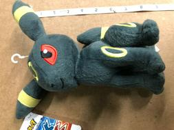 Pokemon Umbreon Eevee Evolution Plush Stuffed Animal Toy 8""