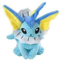 "Pokemon Vaporeon 8"" Plush Toy Stuffed Animal Soft Figure Dol"