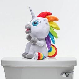 Squatty Potty Pooping Unicorn Rainbow Stool Toy Plush Squatt