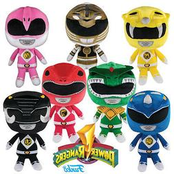 POWER RANGERS - LICENSED HERO PLUSHIES COLLECTIBLE STUFFED P
