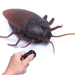 Prank Toy,High Simulation Animal Cockroach Infrared Remote C