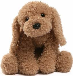 GUND PUDDLES  Puppy Dog Plush Red Collar Stuffed Animal Toy