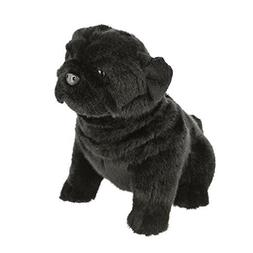 Bocchetta Plush Toys Pug Dog Sitting Soft Plush Toy - Oreo M