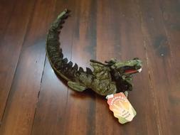 Folkmanis Puppets Green Dragon Sea Serpent Animal Plush Toy