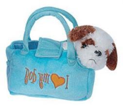 Puppy in A Purse - Soft Plush Fancy Pet Carrier Puppy in a C