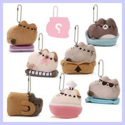 GUND PUSHEEN - PLUSH  KEYCHAIN -  KITTEN IN A BAG - BLIND BO