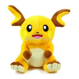 Pokemon Center Raichu Character Stuffed Animal Plush Doll 7