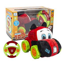 Buenotoys RC Plush Cartoon Toy car for Kids-Different Freque
