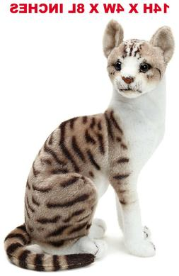 Realistic Shorthair Cat Pet Plush, Kids And Children Stuffed